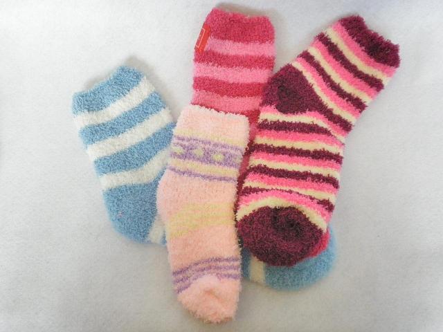 モコモコ靴下オリジナル製作